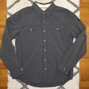Harley Davidson Shirt Gray Size Large